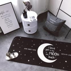 昔可家纺 2017新款长条地垫Moon