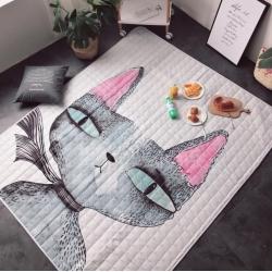 (总)昔可家纺 野餐垫地垫爬爬垫治愈卡通系