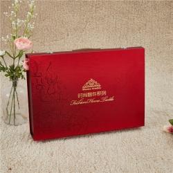 正大包装 拆卸式礼盒时尚包装套件系列红51X36X10