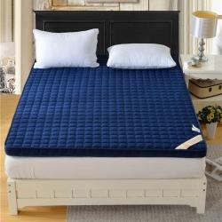钻爱床垫 记忆棉床垫宝石蓝床垫