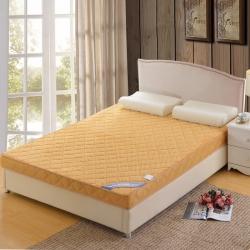 鉆愛床墊 記憶棉床墊立體貝貝絨 駝色