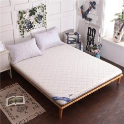 钻爱床垫 针织棉床垫-珍珠白
