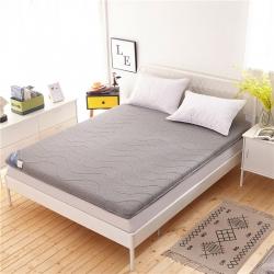 钻爱床垫 针织棉床垫卡其灰