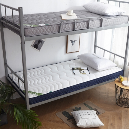 (总)钻爱家纺 学生款立体乳胶记忆棉四季通用床垫厚10cm