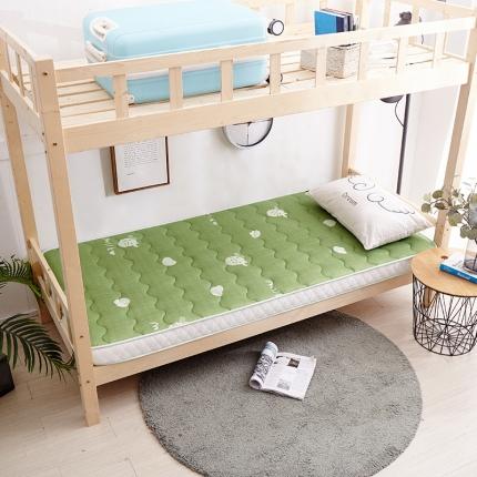 钻爱床垫 2021新款学生针织立体透气床垫6.5cm奶牛