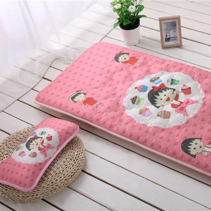 贝贝月家纺 枕头+两用垫床垫樱桃小丸子