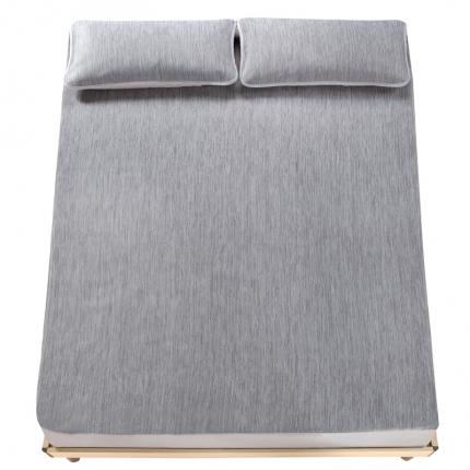 小时代家纺 水洗云母凉感席三件套 欧美风格彩云-灰色