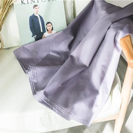 原研家居 2018新款60S长绒棉素色单品床单优雅紫