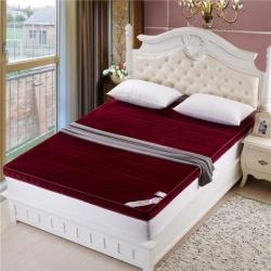 (总)优莱床垫 法兰绒立体床垫