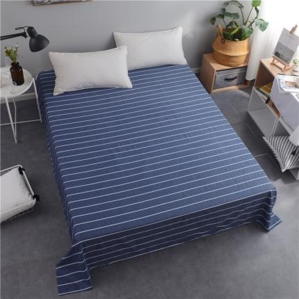 棉立方家纺 新款全棉单床单悠闲时光