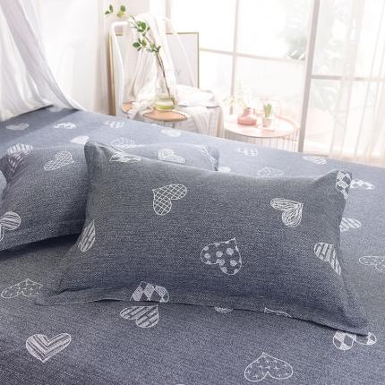 棉立方家纺 新款全棉单枕套 甜心宝贝