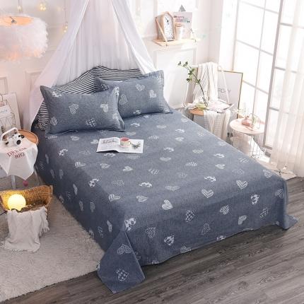 棉立方家纺 新款全棉单床单 甜心宝贝