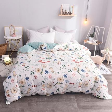 (总)棉立方家纺 新款系列全棉床单四件套