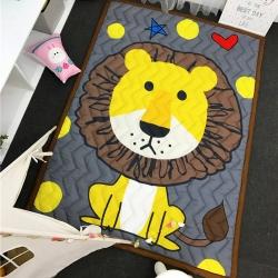 茱罗纪家纺 卡通加厚爬爬垫地垫小狮子