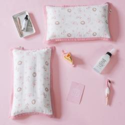 具小象的枕头店 具小象枕套特供花研系列-双层纱 小狮子