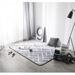 凤凰林客厅地毯地垫茶几垫飘窗垫脚垫防滑垫灰色格调
