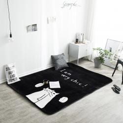 凤凰林 新款客厅地毯地垫茶几垫飘窗垫脚垫防滑垫 猜猜我是谁