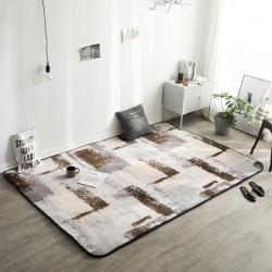 凤凰林 新款客厅地毯地垫茶几垫飘窗垫脚垫防滑垫 抽象艺术