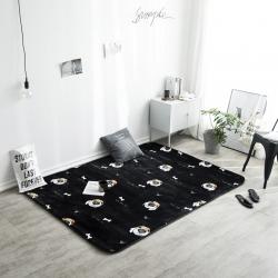 凤凰林 新款客厅地毯地垫茶几垫飘窗垫脚垫防滑垫 呆萌狗