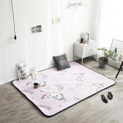 凤凰林 新款客厅地毯地垫茶几垫飘窗垫脚垫防滑垫 独角兽