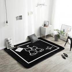 凤凰林 新款客厅地毯地垫茶几垫飘窗垫脚垫防滑垫 两小无猜