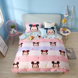 熊孩子家居 迪士尼系列13070四件套可爱米奇