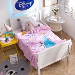 熊孩子 2018正版迪士尼儿童夏被 梦幻艾莎