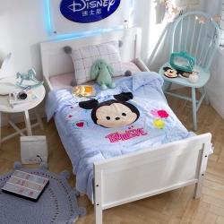 熊孩子 2018正版迪士尼儿童夏被 挚爱米奇