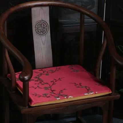 (总)雷晓家居 2019新款中式高精密提花坐垫椅垫
