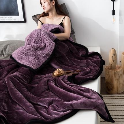 (总)网客 2019法莱绒+羊羔绒毛毯