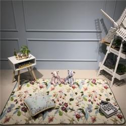 (总)Djs-Home 花卉款全棉地垫