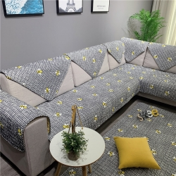 Djs-Home 北欧款全棉沙发垫 小蜜蜂