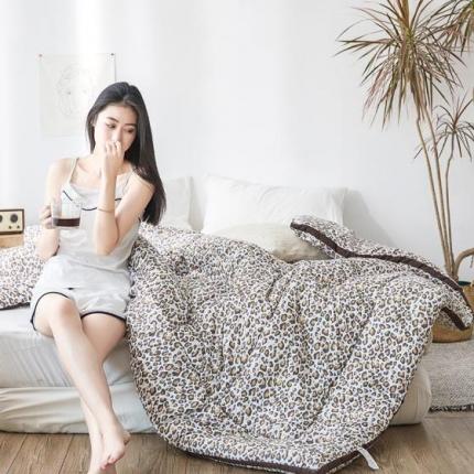 (总)阿曼达 2019新款印花水洗棉冬被