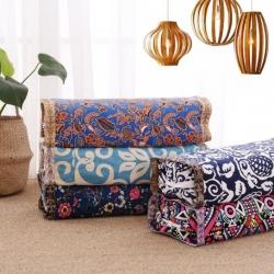 (总)明星枕业 荞麦枕-老粗布全棉荞麦皮壳枕芯-可调节高度
