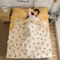 旅行純棉隔臟睡袋床單便攜成人旅游賓館酒店衛生雙人睡袋小家碧玉