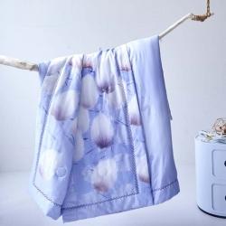 嘉柏家纺正宗奥地利兰精天丝工艺空调夏被柔软丝滑可水洗不变形