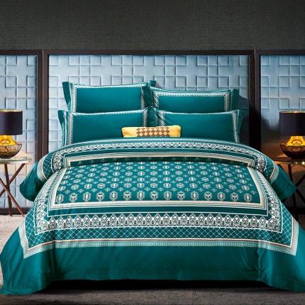 浩情国际 2019新款高端100支长绒棉系列四件套 圣卡罗