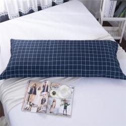 (总)喜相逢家纺 D21-芦荟棉双人枕套情侣枕芯套加长枕头套