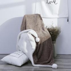 花漾 大福系列毛毯大福-咖