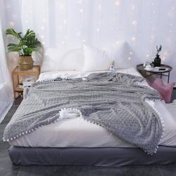 花漾 心愿系列毛毯心愿-灰