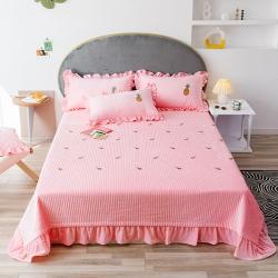 (總)靜家居 2019新款寶寶絨韓式床蓋網紅款棚拍圖