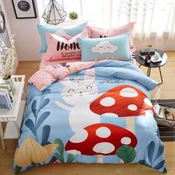 (总2)涵宸家纺 新花型-大版全棉平网系列四件套床单款
