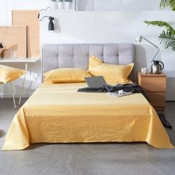 (总)浩远家纺 2019新款纯棉加厚水洗色织自由棉床单