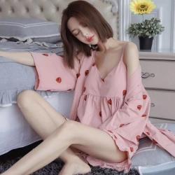 朱小宁 2018新款睡衣 草莓
