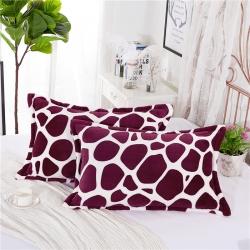 (总)鑫程家纺 新品300克加厚金貂绒枕套一只装