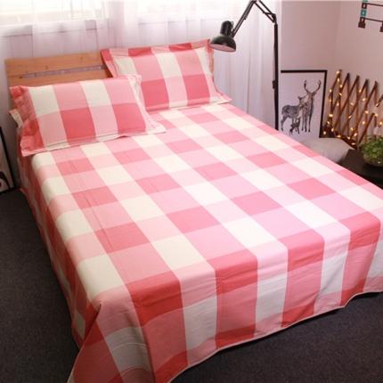 米亚家纺 棉麻空调软凉席(带包装)静心格-粉