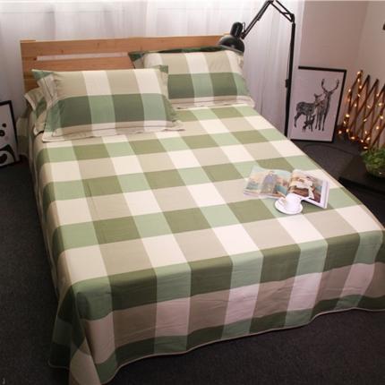 米亚家纺 棉麻空调软凉席(带包装)静心格-绿