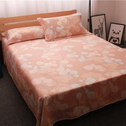 米亚家纺 棉麻空调软凉席(带包装)相思叶-粉
