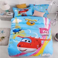 (总)戴娜国际13372全棉卡通三件套学生宿舍儿童床单