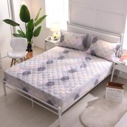 夹棉床笠 纯棉床笠席梦思保护套床垫套 床笠定做-休闲时光